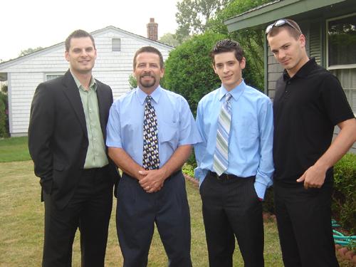 bryan, dad, jordan, and josh